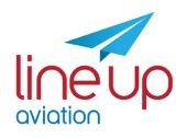Line Up Aviation Logo