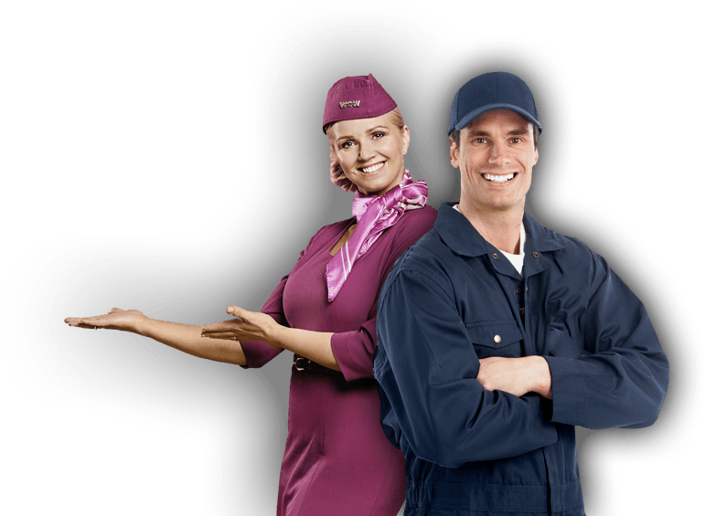 Licensed Engineer and Cabin Crew